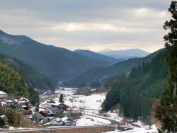 岩屋寺へ向かう道の下見