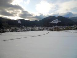冬の久万高原へ、第一ラウンド
