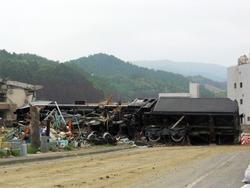 津波被災地訪問・・・宮城県南三陸町志津川